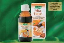 "A. Vogel Vita Force® / 100% βιολογική φόρμουλα πολυβιταμινών από συμπυκνωμένα θρεπτικά super-τρόφιμα για ""φυσική"" ενέργεια, αντοχή και ευεξία  http://www.avogel.gr/product-finder/avogel/vitaforce.php"