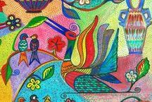 my art work / www.oanapiscureanu.com#beauty#colour#texture#life#joy