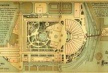 WF1888 - Planols i mapes / Exposició Universal de Barcelona 1888 / by Miquel Angel Rodriguez Arias