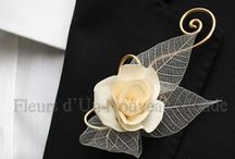 For the Guys- creative boutonnieres