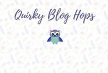 QUIRKY BLOG HOPS / A board to gather together all those quirky things that make us smile on the Quirky Blog Hop Team!
