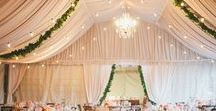 A Signature Draping / Fabric and Linen Draping for events