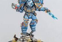 Warhammer / Hier zitten veel worhammerpopetjes. Dus kijk uit voor hun.