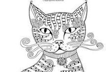 Katzen vorlagen Anleitungen / Handarbeiten weitläufig zum Thema Katzen