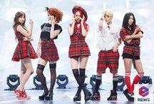 f(x) / Korean pop group by music label sm entertainment