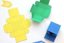 Papier Boxen Cartonage Karton