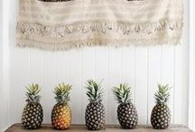 THE PINEAPPLE / We are so intrigued by the unique and wonderful pineapple that we're making a board dedicated to its fabulous form.
