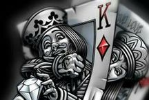 #PokerArt / #Poker is fun, but it can also inspire #Art! Check out these amazing things inspired by Poker!