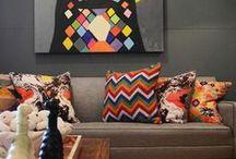 Decoração / Artigos de decoração e objetos decorativos pra você pegar como referência :)