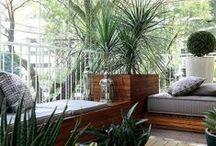 Varanda | Balcony / Referências de decoração para varanda