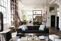 Loft / Loft | Decoração | Design de interiores | Arquitetura