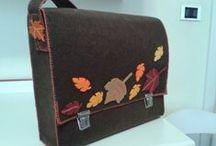 i miei progetti / felt, handmade. sewing, soutache. bag