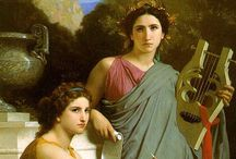 Female music players / in art