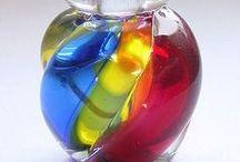- Perfume bottles -