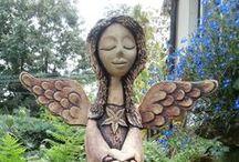 Keramika andělé