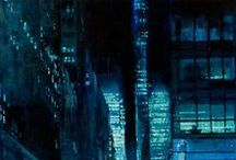 Jeremy Mann (Cityscapes & Women Paintings) / Paintings by Jeremy Mann