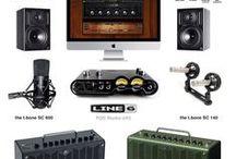 My home studio equipment / instruments / My home studio equipment and instruments to make & record music.