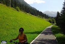 Ciclopista del Sole / Dal passo del Brennero a Verona e a Venezia in bicicletta.