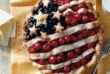 USA / There's nothing more American than  a homestyle meal with family and friends. Check out the pins that remind us of the good old U S of A.