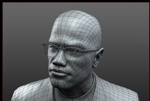 3D/ Wireframe/ Characters