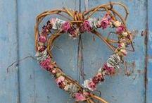 Bouquets, potées et couronnes / Ou comment faire entrer la nature dans nos intérieurs