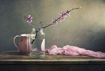 Stil even... Stilleven / by Esther Kloddertje verf
