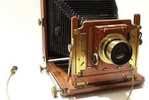 Vintage plate cameras / A few vintage cameras that we love the look of!