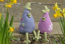 Easter with yarn / Knit, crochet