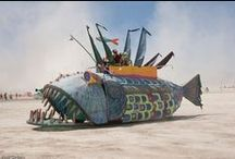 Art Car Vehicle Design / Cool fun and exotic or creative vehicle shapes and sizes, art as opposed to industrial art and design.
