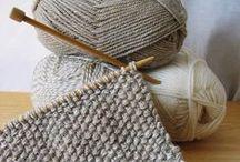 Ouvrages au tricot