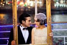 Glamorous Gatsby Party Inspiration / Ideas and inspiration for a glamorous Great Gatsby themed party.