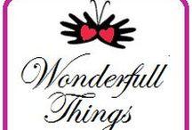 Wonderfull Things / Lavori di scrapbooking, immagini di progetti fatti
