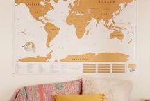 Inspiration : Les cartes géographiques