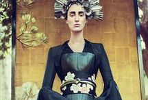 eastern promises / asian inspired fashion & beauty, eastern art and culture