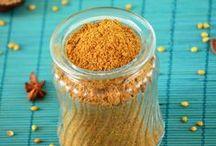 Homemade Mixes / Spice Powders / Homemade mixes, homemade curry powder and other spice powders