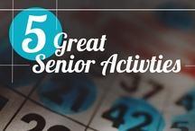 Activities for You & Your Senior Parent / Looking for some new activities and ideas that you can do with your aging parent? Here are some tips, games and unique ways to have fun and spend more time with the seniors in your life.  / by FirstLight HomeCare