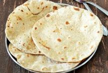Indian Breads/Parathas/ Naans/ Kulchas/Rotis/Phulkas/Pooris / All kinds of Indian breads like Rotis/ phulkas/naans/ parathas/ pooris/puris (puffed fried Indian wheat bread)