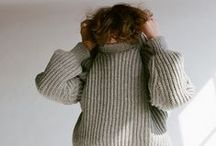 cozy knits / about knits and knits and knits