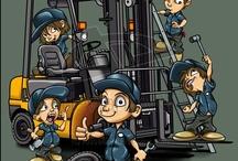Forklifts (pol. wózki widłowe)