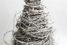 woodsy/rustic christmas ideas / by GesineArt