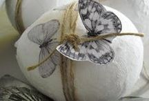peter cottontail and easter decor ideas / by GesineArt
