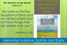 Bible Memorization Made Easy - Curriculum / Books created to make memorizing the bible easy.