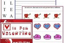 Valentines Day: Copywork, Narration, Dictation / Using the Charlotte Mason Method during your Valentines Day studies.