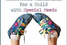 Homeschool Special Needs / You CAN homeschool your special needs child!