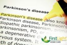 Parkinson's Awareness / To celebrate and honor those suffering from this disease. To education on early signs, treatments, and future developments in curing Parkinson's.  / by FirstLight HomeCare