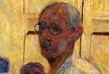 Pierre Bonnard / Пьер Боннар (фр. Pierre Bonnard; 3 октября 1867 — 23 января 1947) — французский живописец и график, вошедший в историю искусства как один из величайших колористов XX века. В молодости возглавлял группу художников «Наби (группа)». / by Harry Schenker
