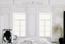 (not) all white / white interiors, white decor, white walls, white floors, white furniture, white home, white color