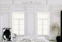 (not) all white / white interiors, white decor, white walls, white floors, white furniture, white home, white color