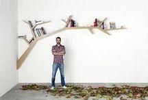 bookshelf / Books, shelves, home decor, ideas for storing books