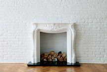 playing with fire / Fireplaces, wood storage, home decor